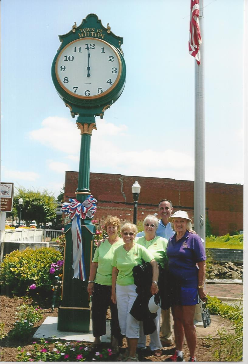 Milton Town Clock Dedication 7.26.15